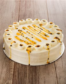 bakery: Orange and Passion Cake with Cream Cheese 30cm!