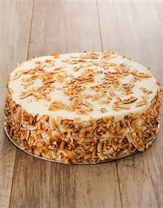 bakery: Pineapple and Coconut Cake with Cream Cheese 30cm!