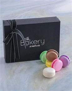 bakery: Rainbow Macaroon Selection!