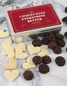 bakery: Personalised Cookies Make Everything Better Tin!