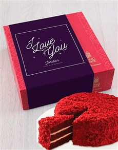 bakery: Personalised Chateau Gateaux Love Cake!