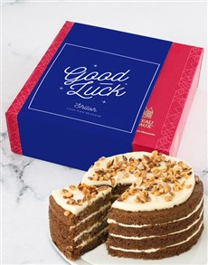 bakery: Personalised Chateau Gateaux Good Luck Cake!