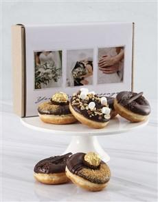 bakery: Personalised Chocolate Doughnut Box!