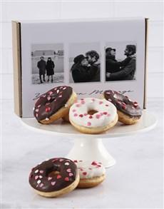 bakery: Personalised Heart Sprinkle Doughnut Box!