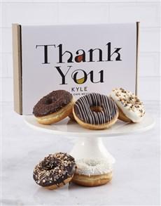 bakery: Personalised Thank You Doughnut Box!