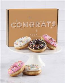 bakery: Personalised Congrats Doughnut Box!