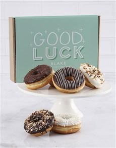 bakery: Personalised Good Luck Doughnut Box!