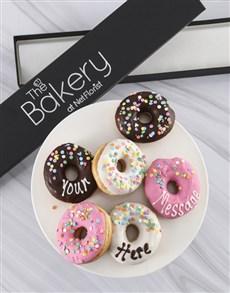bakery: Personalised Delicious Doughnut Box!