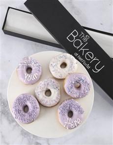 bakery: Personalised Pastel Doughnut Box!