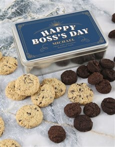 bakery: Personalised Boss Day Cookie Tin!