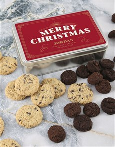 bakery: Personalised Festive Cookie Tin!