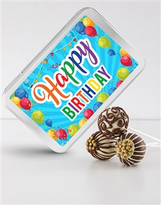 bakery: Birthday Chocolate Cake Pops !