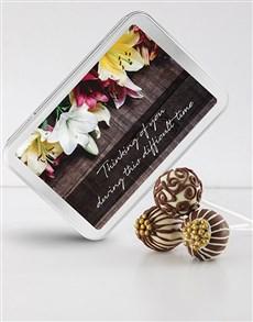 bakery: Thinking of You Chocolate Cake Pops!