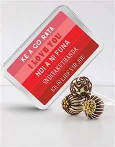 gifts: I Love You Cake Pops!