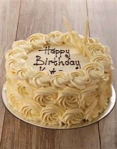 bakery: White Rose Cake!