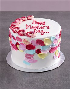 bakery: Mothers Day Floral Carrot Cake!