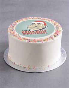 bakery: Holly Jolly Christmas Cake!