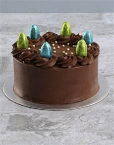 bakery: Easter Egg Chocolate Cake!