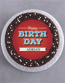 bakery: Personalised Birthday Cake For Him!