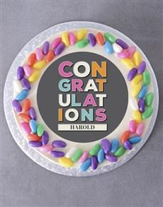 bakery: Personalised Congratulations Cake!