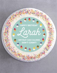 bakery: Personalised Sweet Birthday Cake!