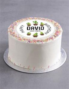 bakery: Personalised Sexy Birthday Cake!
