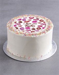 gifts: Personalised Kisses Cake!