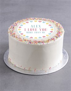 gifts: Personalised Sweet Love Cake!
