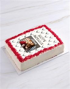 bakery: Birthday Deer Photo Cake!
