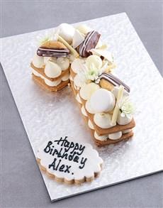 bakery: Personalised Vanilla Coco Cookie Cake!