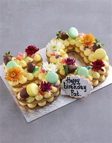 bakery: Personalised Rainbow Cookie Cake!