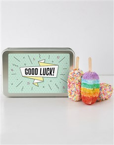 bakery: Good Luck Cakes On A Stick!