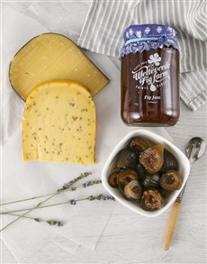 deli: Ultimate Cheese and Sweet Preserves Hamper!