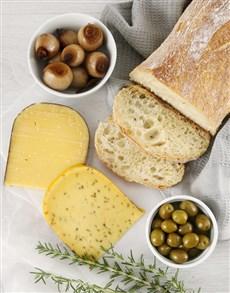 deli: Delectable Cheese and Savoury Picnic Spread!
