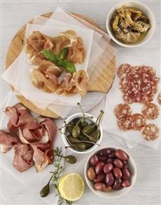 deli: Deli Meats and Preserves Picnic Box!