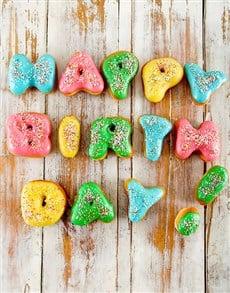 bakery: Happy Birthday Mini Doughnuts!