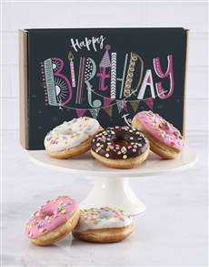 bakery: Birthday Confetti Doughnut Box !