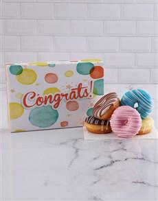 bakery: Congrats Bubble Doughnut Box!