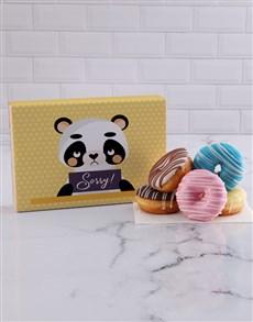 bakery: Sorry Panda Doughnut Box!