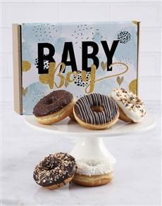 bakery: Baby Boy Doughnut Letters!
