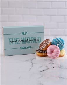 bakery: Personalised Thank You Doughnuts!