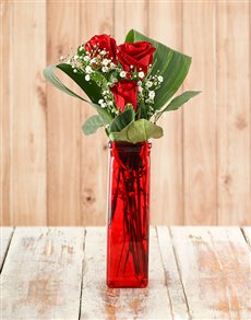 flowers: Your one in a Million Red Rose Vase!