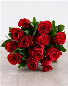 flowers: Red Rose Radiance!