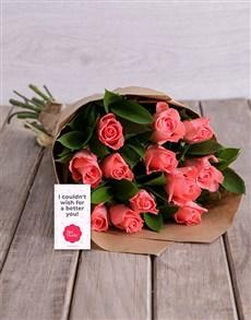 flowers: Pink Sapphire Bouquet!