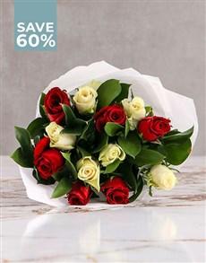 flowers: Splendid Mixed Roses!