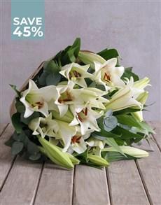 flowers: Stunning St Joseph Lilies!