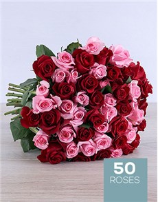 flowers: Mothers Day Red and Pink Bouquet!