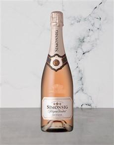 alcohol: Simonsig Kaapse Vonkel Brut Rose 750Ml!