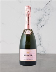 alcohol: Krone Rose Cuvee Brut 750Ml!