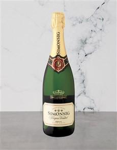alcohol: Simonsig Kaapse Vonkel 750Ml!